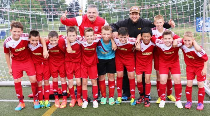 D1 Junioren sind Vizemeister in der Bezirksliga