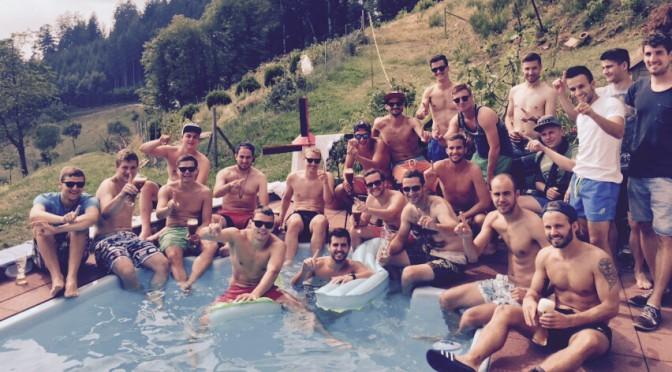 Poolparty auf dem Walholz