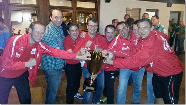 AH-Mannschaft gewinnt Ü30-Turnier in Lautenbach