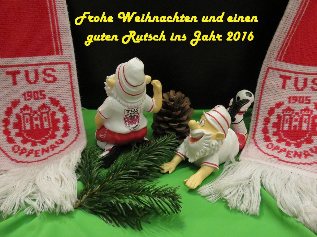 Frohe Weihnachten Tus Oppenau Fussball