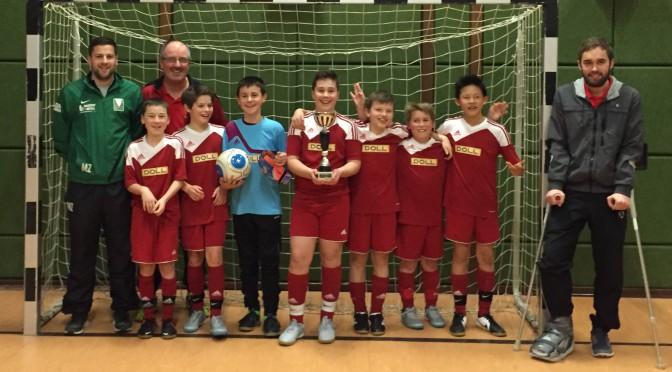 D1 Junioren der SG Oppenau gewinnen Hallenturnier in Ödsbach