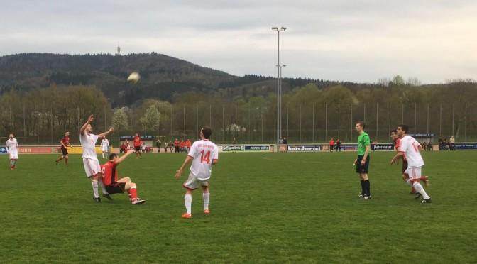 Erste Mannschaft holt Auswärtssieg in Sinzheim