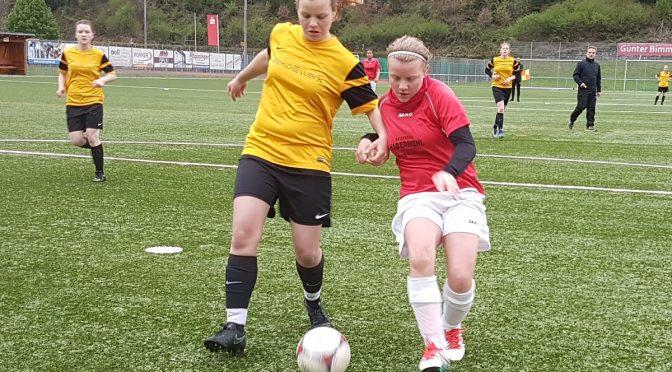 Bilder vom Spiel der B Juniorinnen gegen Sulz