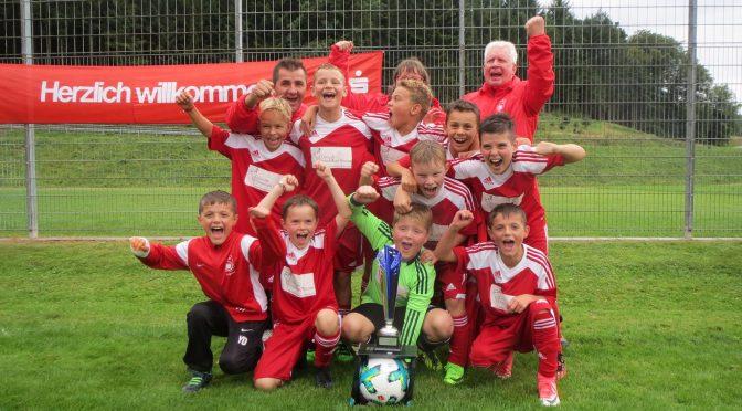 E Junioren gewinnen Turnier in Lautenbach