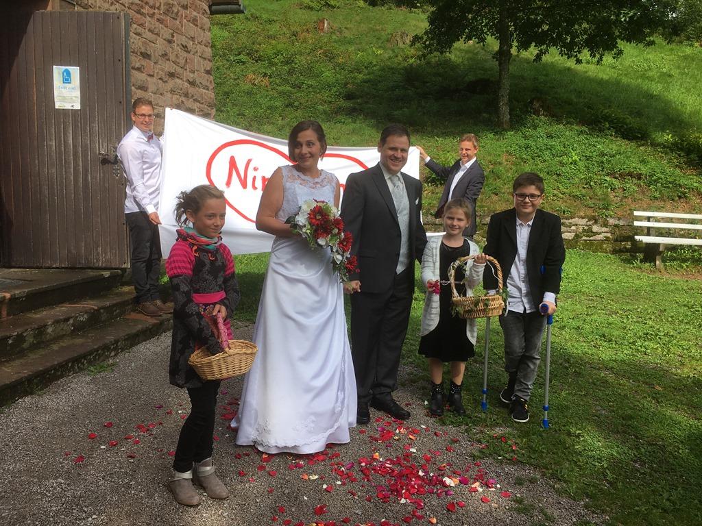 Hochzeit Von Nicole Und Daniel Tus Oppenau Fussball