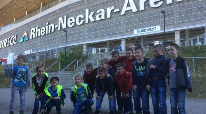 TuS Bambinis + F- Junioren beim Bundesligaspiel in Hoffenheim