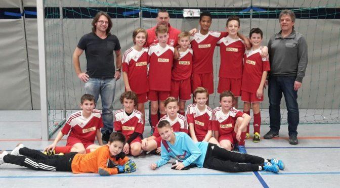 D-Junioren gewinnen Hallenturnier des SV Dietersweiler