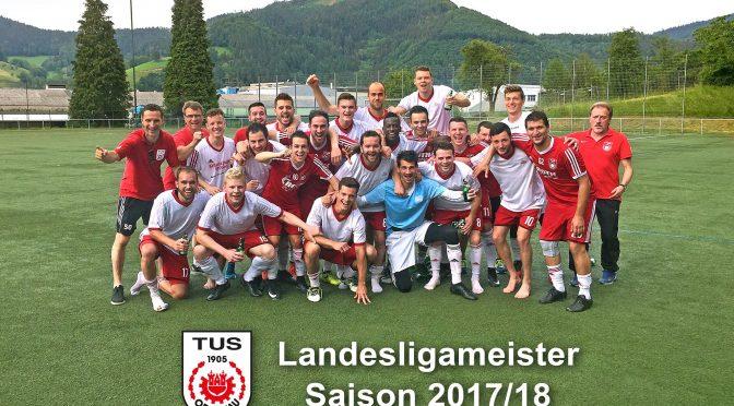 TuS Oppenau ist Landesliga-Meister