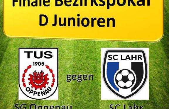 D-Junioren im Bezirks-Pokalfinale am 20.6.