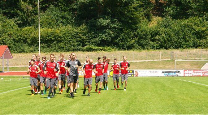 VfB Stuttgart U21 trainiert in Oppenau