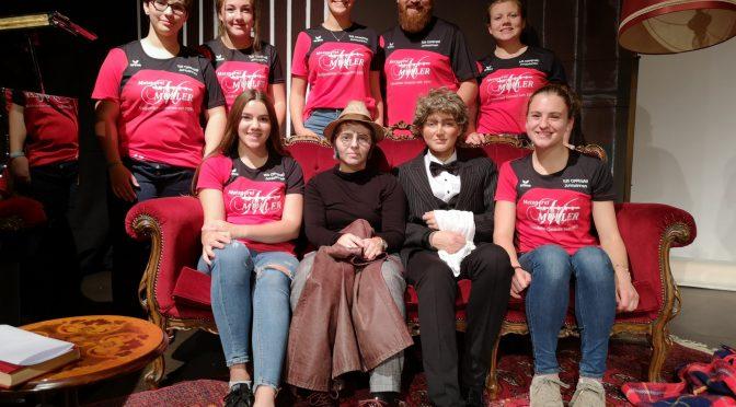B Juniorinnen bei HFG Theaterabend