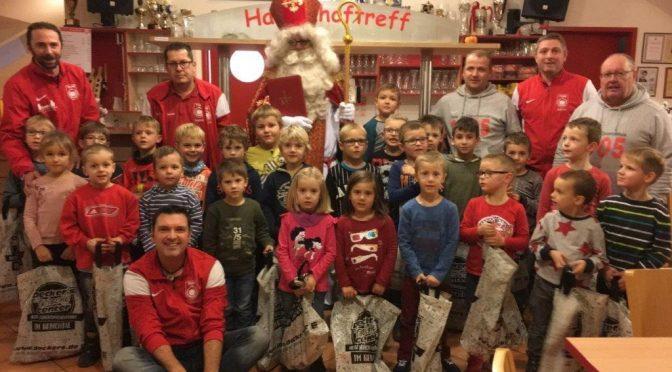 Nikolausfeier der TuS Bambinis