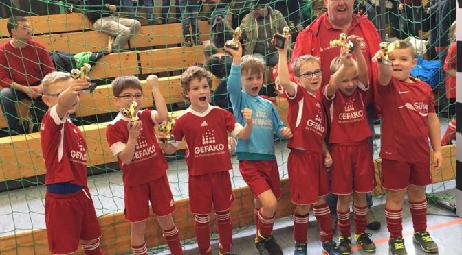 Turniersiege der Bambini und der F2