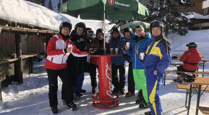 Ski-Tour des TuS Oppenau nach Warth-Schröcken
