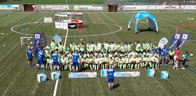 Fußballcamp der FSR gestartet