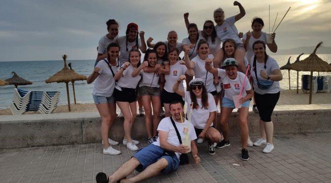 Damenmannschaft zum Saisonabschluss auf Mallorca
