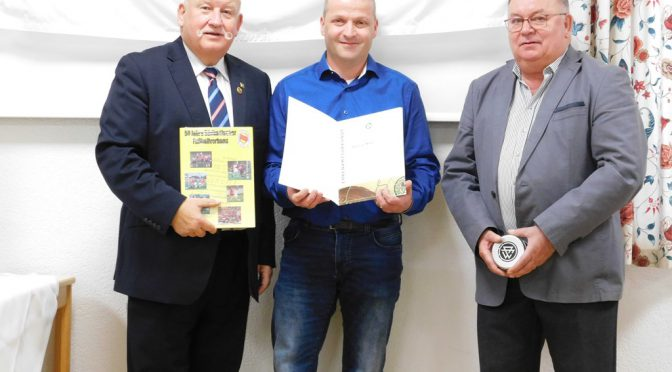 Stephan Maier bei DFB-Aktion zum Ehrenamt geehrt