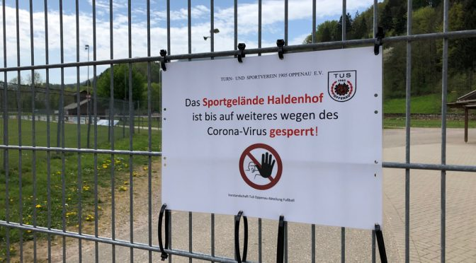 Aktuelle Information Sportgelände Haldenhof
